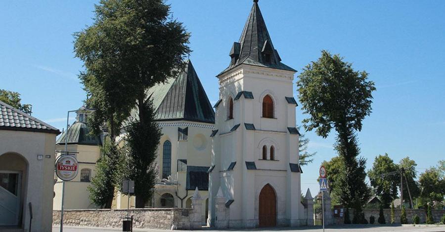 Kościół Św. Trójcy w Nowym Korczynie - zdjęcie