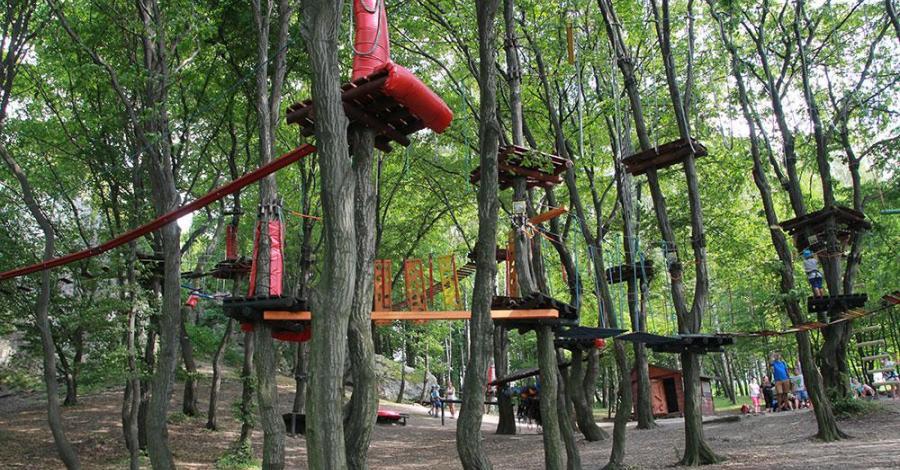 Park Linowy w Podzamczu - zdjęcie
