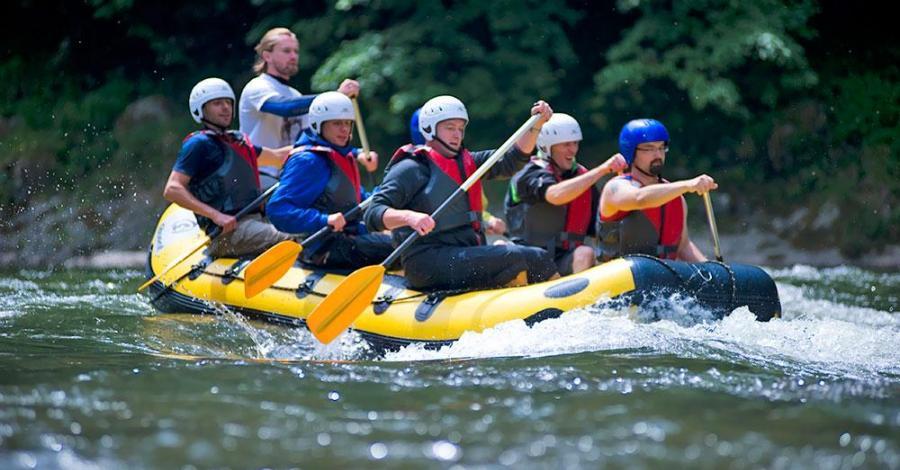 Rafting - Spływ Pontonem Przełomem Dunajca - zdjęcie