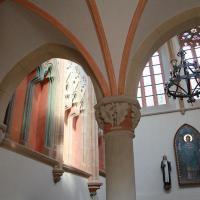 otwarta niedawno kaplica dla zwiedzających