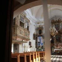 słynna loggia w kościele