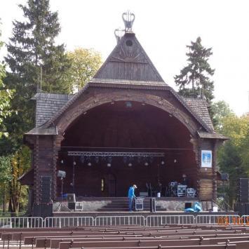 Muszla koncertowa w Ciechocinku