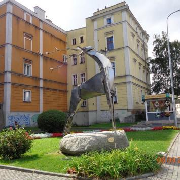Rzeźba Jeleń ze snu w Jeleniej Górze