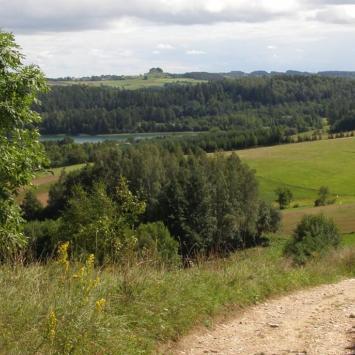 Ścieżka Wokół jeziora Jaczno