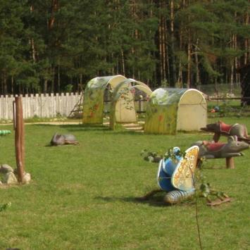 Wioska Darów Lasu w Kopcu