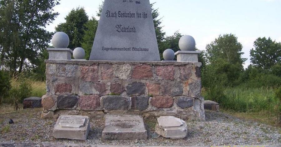 Cmentarz jeniecki w Strzałkowie - zdjęcie