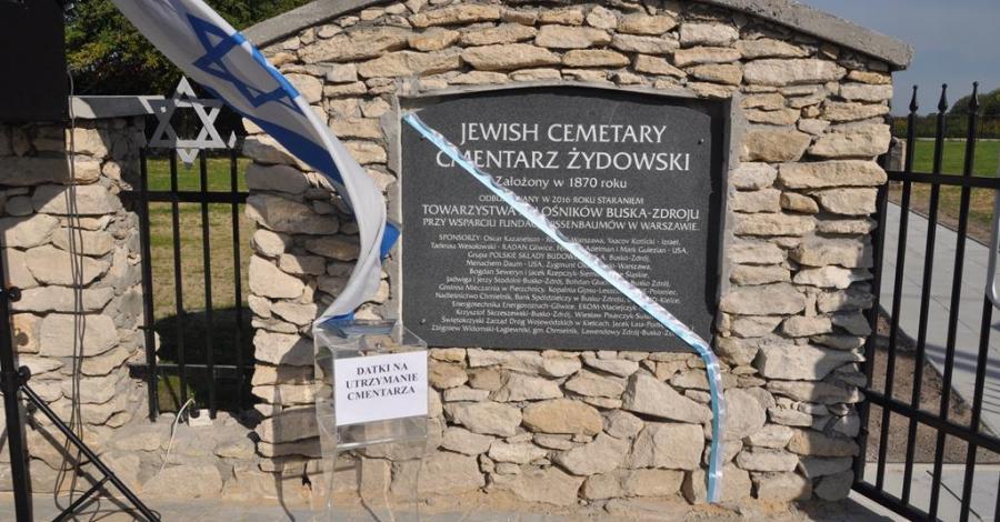 Cmentarz żydowski w Busku Zdroju - zdjęcie