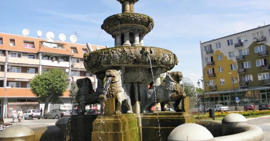 Fontanna Rolanda w Prabutach - zdjęcie