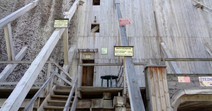 Grota solankowa Tężnia II w Ciechocinku - zdjęcie