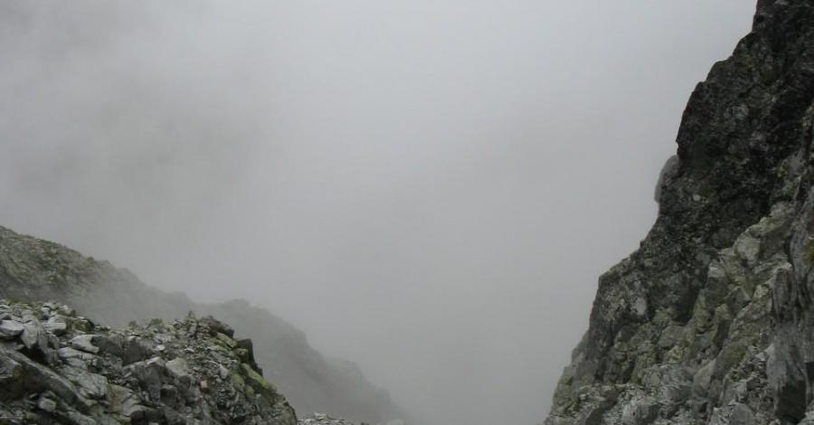 lodowa przełęcz - zdjęcie