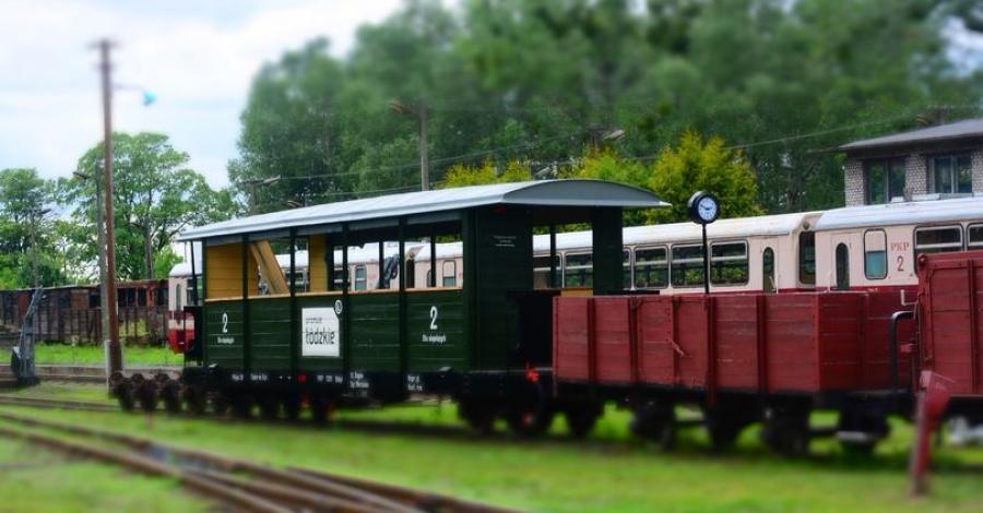 Kolej Wąskotorowa Rogów-Rawa-Biała - zdjęcie