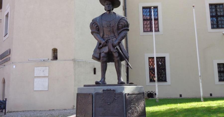 Pomnik Bogusława X w Słupsku - zdjęcie