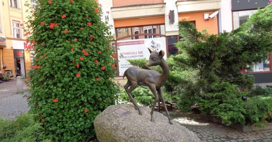Pomnik jelonka w Jeleniej Górze, Danusia