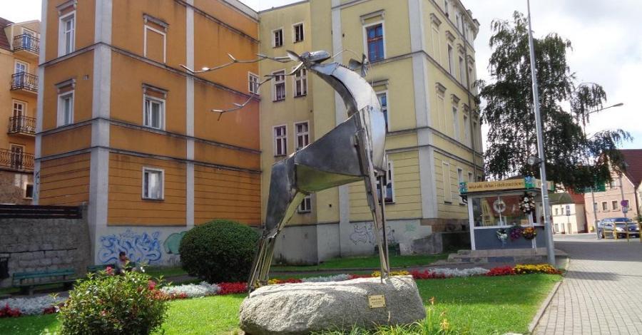 Rzeźba Jeleń ze snu w Jeleniej Górze - zdjęcie