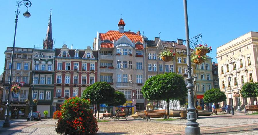 Rynek w Wałbrzychu - zdjęcie