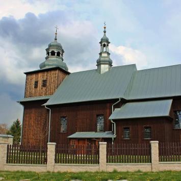 Drewniany kościół w Obiechowie