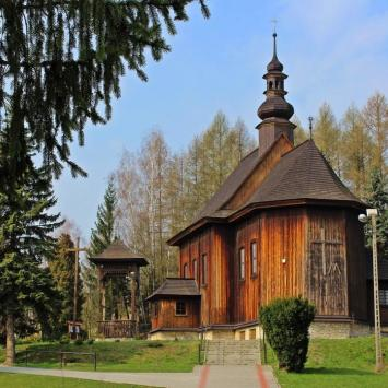 Drewniany kościół w Przesławicach