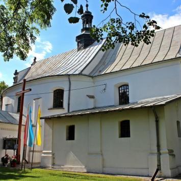 Kościół Trójcy Przenajświętszej w Samborcu