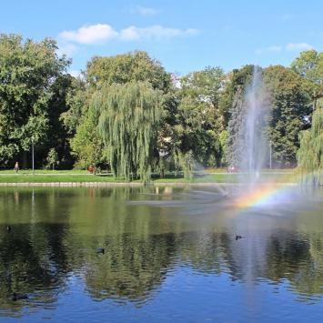 Park Staszica w Kielcach