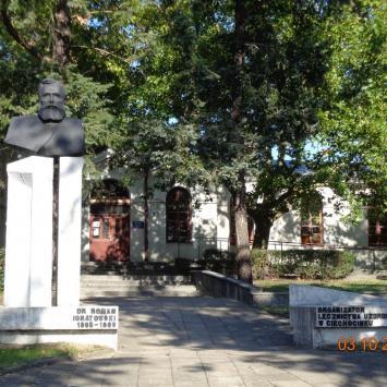 Pomnik Romana Ignatowskiego w Ciechocinku
