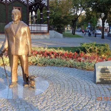 Pomnik Jerzego Waldorffa w Ciechocinku