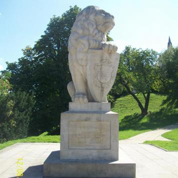 Pomnik lwa w Lublinie