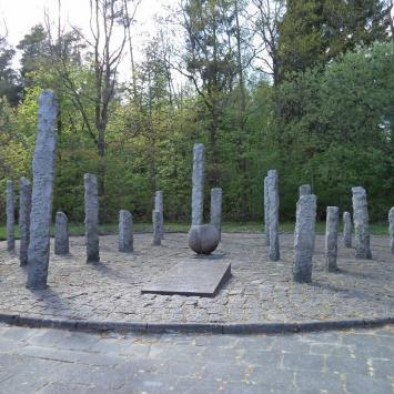 Pomnik w Lasku Południowym w Słupsku