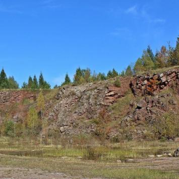 Rezerwat Kamieniołom Zachełmie - zdjęcie