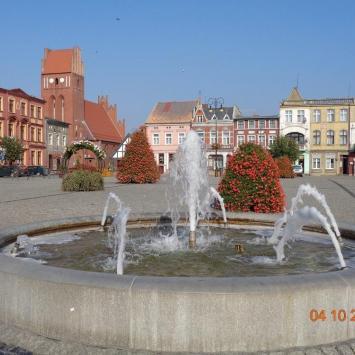 Rynek w Golubiu-Dobrzyniu