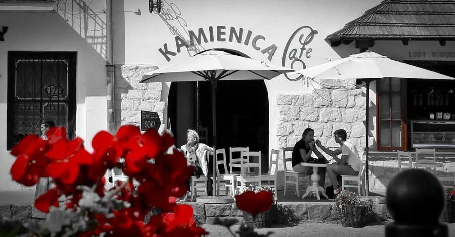 Kamienica Cafe w Kazimierzu Dolnym - zdjęcie