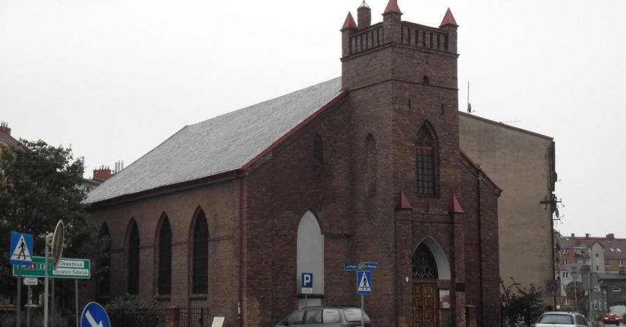 Kościół ewangelicki Świętego Krzyża w Słupsku - zdjęcie