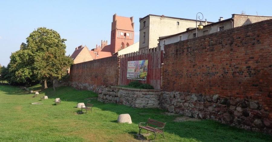 Mury miejskie w Golubiu-Dobrzyniu - zdjęcie