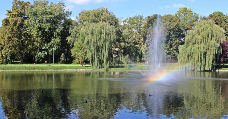 Park Staszica w Kielcach - zdjęcie
