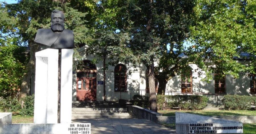 Pomnik Romana Ignatowskiego w Ciechocinku - zdjęcie