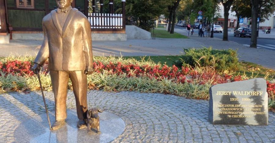 Pomnik Jerzego Waldorffa w Ciechocinku - zdjęcie