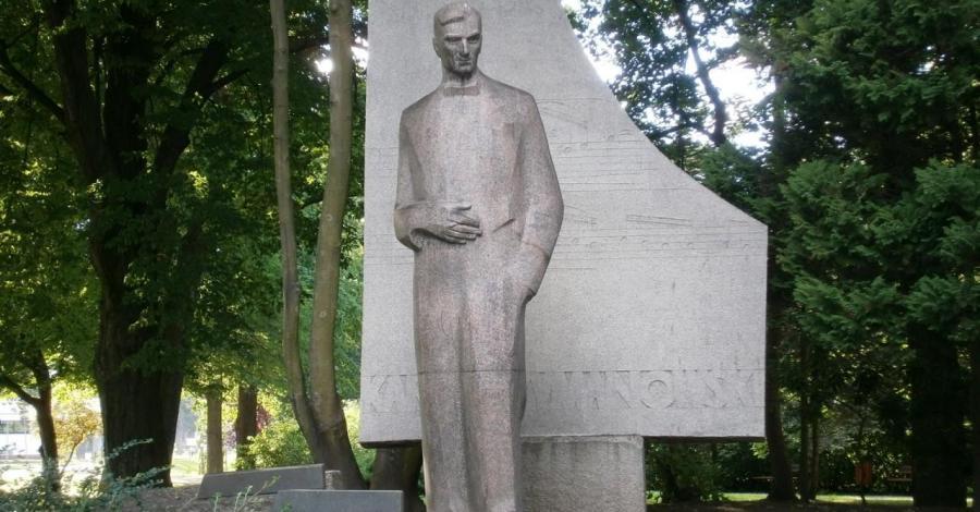 Pomnik Karola Szymanowskiego w Słupsku - zdjęcie