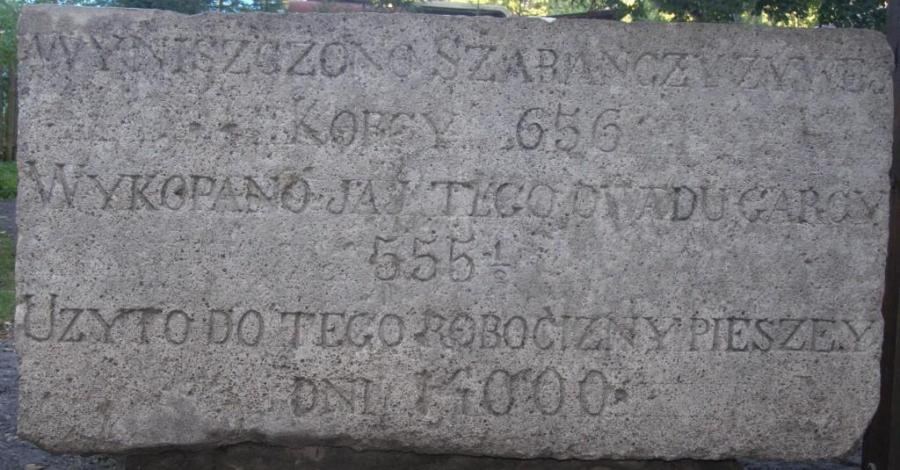 Pomnik szarańczy w Zwierzyńcu - zdjęcie