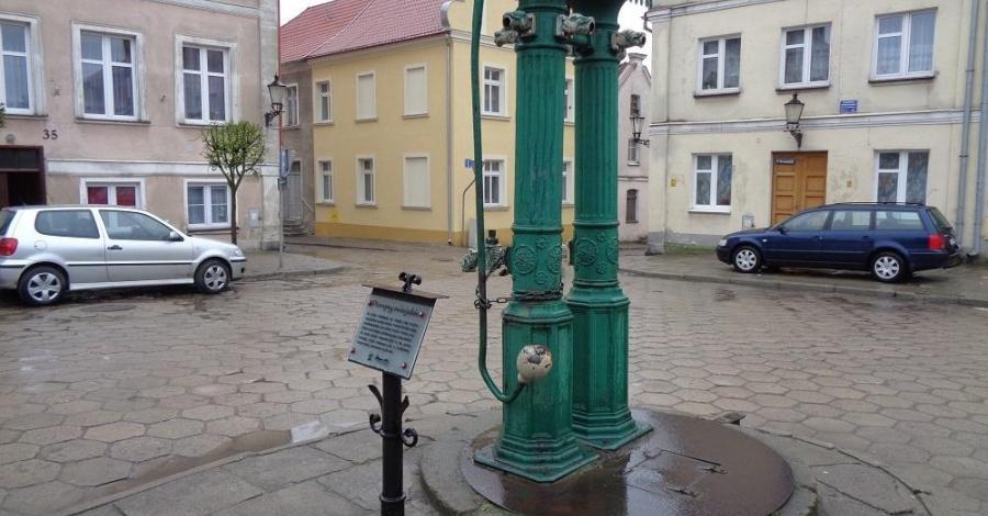 Pompa miejska w Gniewie - zdjęcie