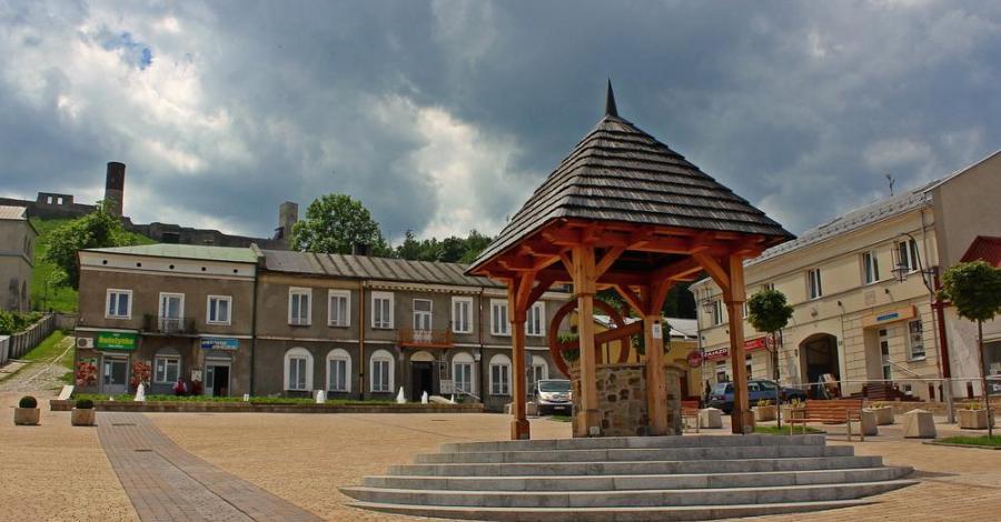 Rynek w Chęcinach - zdjęcie