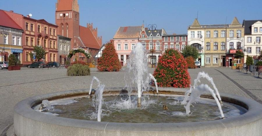 Rynek w Golubiu-Dobrzyniu - zdjęcie