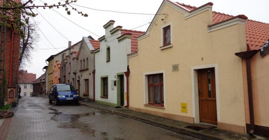 Ulica Sambora w Gniewie - zdjęcie