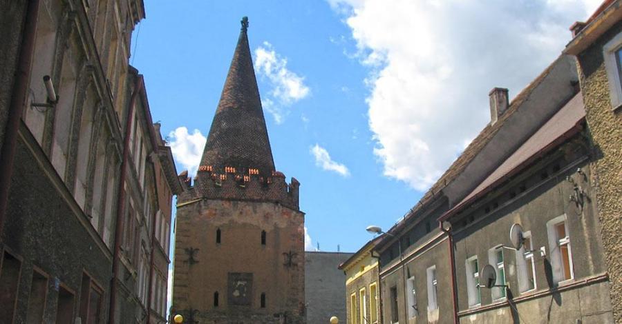 Brama Paczkowska w Ziębicach - zdjęcie