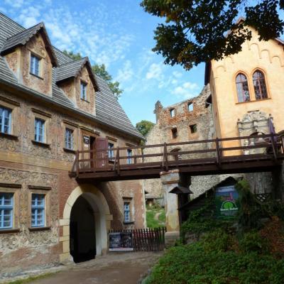 Zamek Grodno w Zagórzu Śląskim