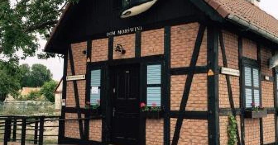 Dom Morświna w Helu - zdjęcie