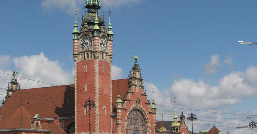 Dworzec kolejowy Gdańsk Główny - zdjęcie