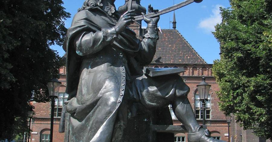 Pomnik Jana Heweliusza w Gdańsku - zdjęcie