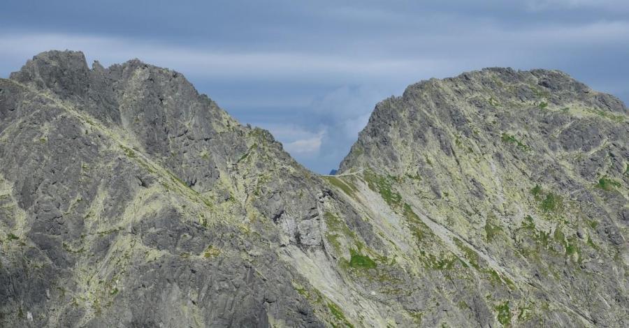 Mięguszowiecka Przełęcz Pod Chłopkiem w Tatrach - zdjęcie