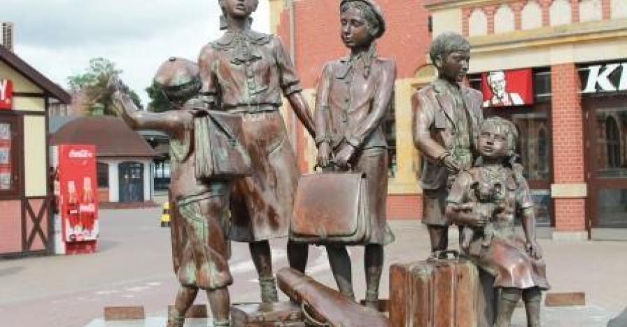 Pomnik Kindertransportów w Gdańsku - zdjęcie