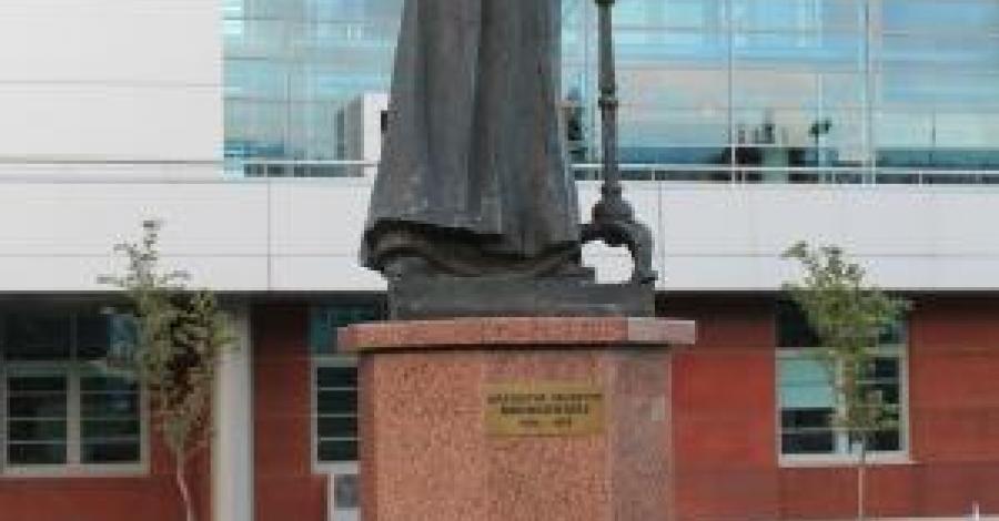 Pomnik Mrongowiusza w Gdańsku - zdjęcie