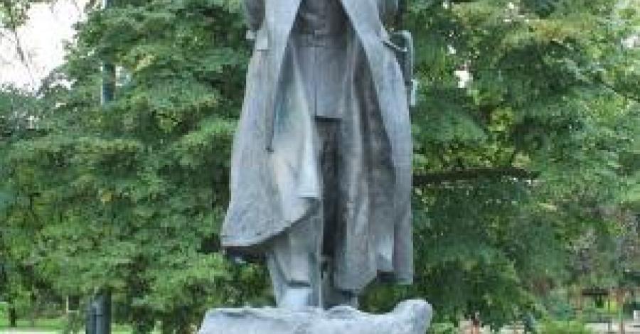 Pomnik Piłsudskiego w Gdańsku - zdjęcie